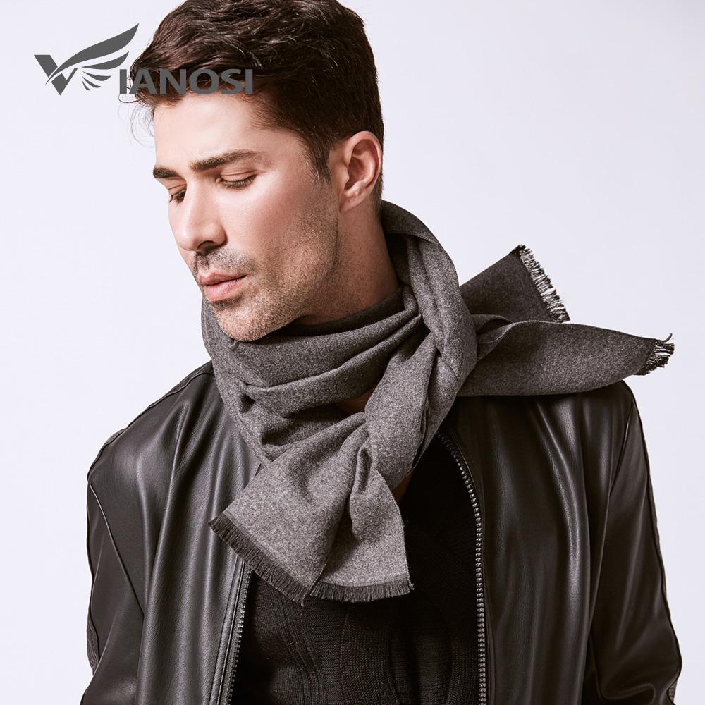 [해외]VIANOSI 남자 솔리드 겨울 스카프 패션 롱 코튼 스카프 남자 소프트 따뜻한 포장 VA246/VIANOSI Man Solid Winter Scarves Fashion Long Cotton scarf Men soft warm Wraps VA246