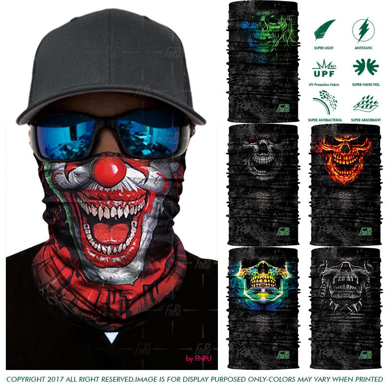 [해외]EXPRESS SHIPPING 3D 해골 반다나 스카프 조커 인간 해골 원활한 스카프 죽음 UniOutdoors Bandana Headwear 100PCS / LOT/EXPRESS SHIPPING 3D Skull Bandana Scarf Joker Human S