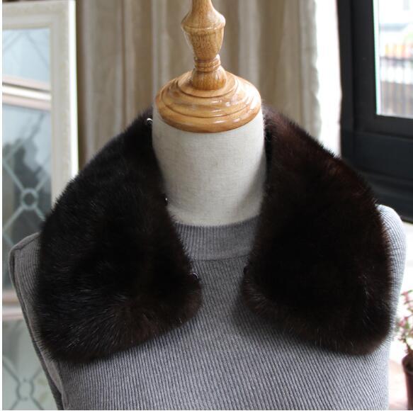 [해외]?Harppihop  밍크 모피 칼라 스카프 남자 의류 액세서리 천연 마틴 모피 재킷 칼라 남자 코트 칼라 스카프 55cmX13/ Harppihop Genuine mink fur collar scarf man garment accessory natural mar