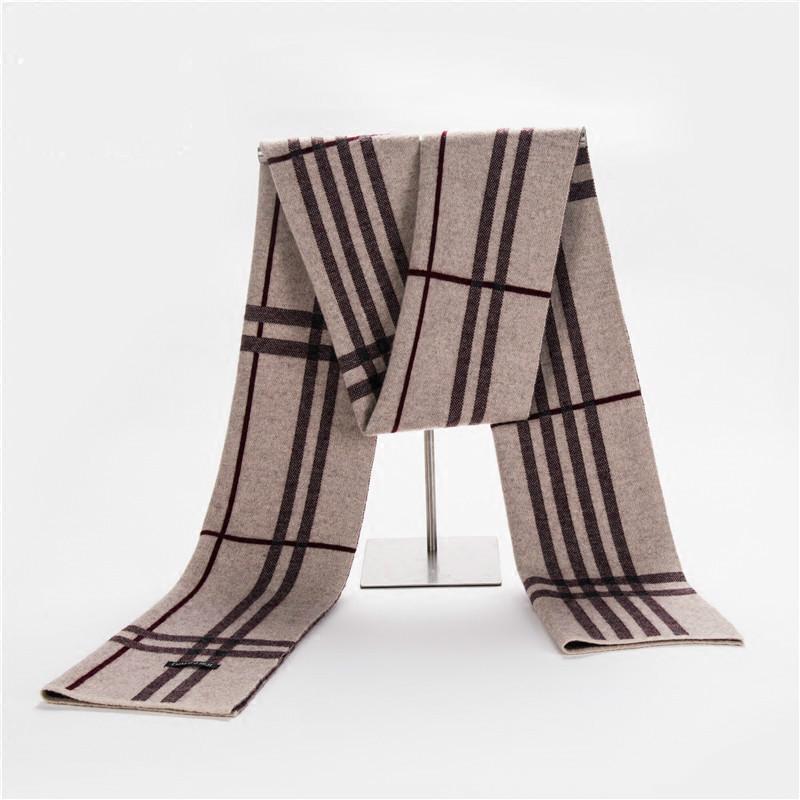 [해외]2017 패션 100 % 순수 양모 남자 & s 스카프 겨울 두꺼운 겨울 따뜻한 격자 Long 단락 스카프/2017 Fashion 100% Pure Wool Men&s Scarf Winter Thick Winter Warm Lattice Long Para