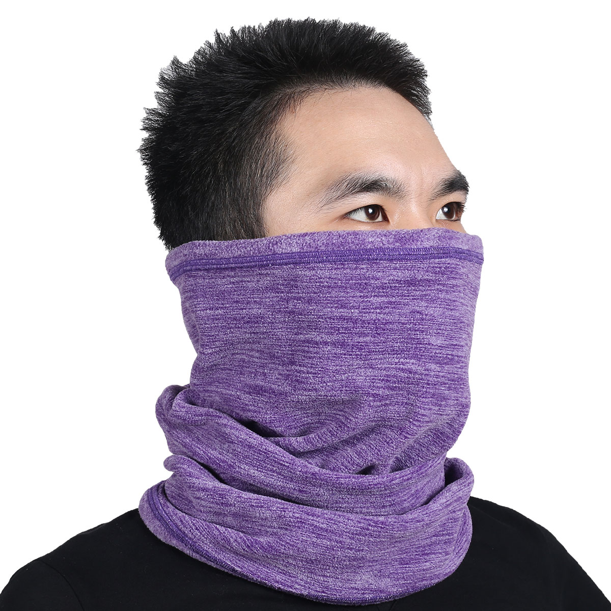 [해외]다기능 모직 양털 열전달 관개 기 온난 기 튜브 페이스 마스크 스노우 보드 Balaclava 스카프 모자 모자 머리띠 두건 모자/Multifunction Wool Fleece Thermal Neck Gaiter Warmer Tube Face Mask Snowbo