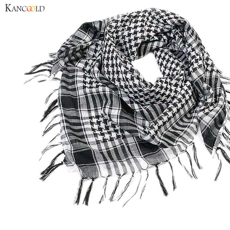 [해외]1PC Uniscarves 타탄 패션 여성 남성 아랍 Shemagh Keffiyeh 스카프 격자 무늬 Tassels 숄 랩 스퀘어 타올 스카프 se253/1PC Uniscarves Tartan Fashion Women Men Arab Shemagh Keffiye