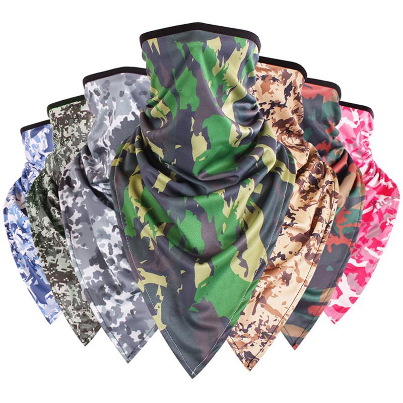 [해외]크리 에이 티브 위장 매직 스카프 두건 UniTriangle 스카프 패션 다기능 육군 튜브 목 얼굴 마스크 자전거 스카프/Creative Camouflage Magic Scarf Bandana UniTriangle Scarves Fashion Multifunct