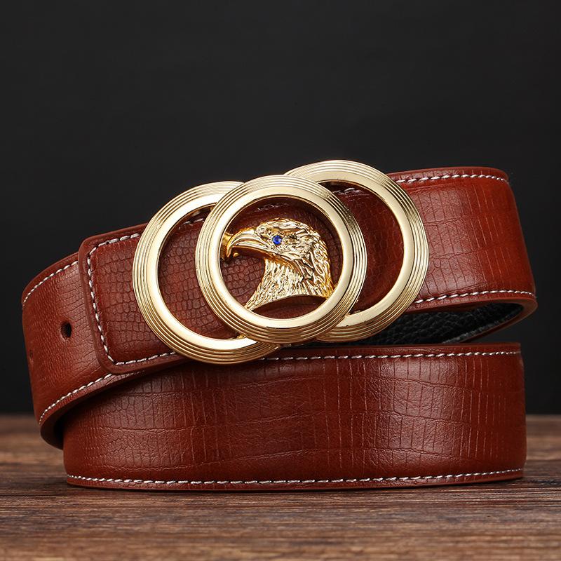 [해외]남성 럭셔리 비즈니스 캐주얼 허리띠를 들어 2016 새로운 브랜드 디자이너 벨트 남성  가죽 자동 버클 벨트/2016 New Brand Designer Belts Men  Genuine Leather Automatic Buckle Belts For Men Lux