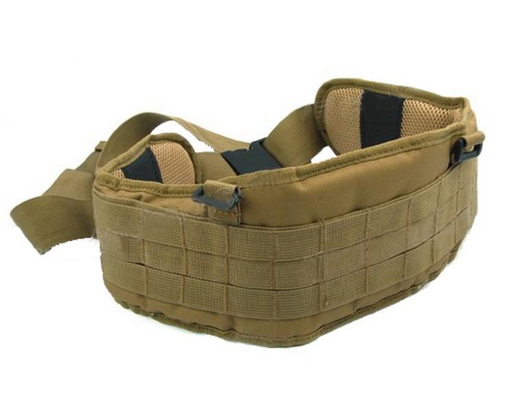 [해외]4 가지 색상 Airsoft 전술 패딩 1000D 나일론 몰리 허리 벨트 전투 군대 전투 벨트 Cummerbunds 망/4 Colors Airsoft Tactical Padded 1000D Nylon Molle Waist Belt Combat Army Battl
