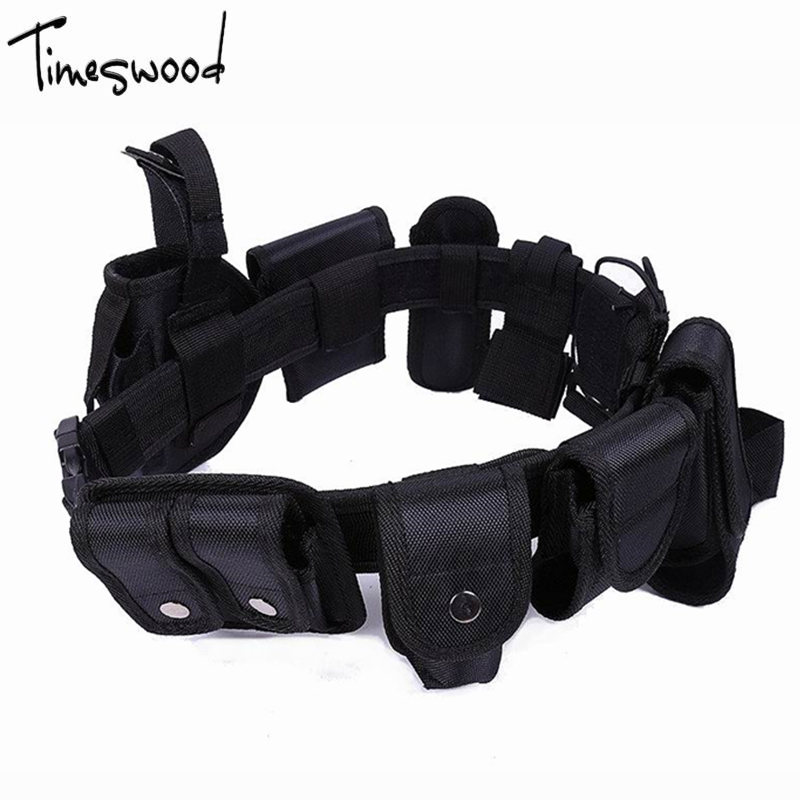 [해외][TIMESWOOD] 10pcs / Set 육군 전술 BeltPouch 총 Waistband 포켓 전쟁 벨트 남자 스타일 밀리터리 스타일 BeltsBag/[TIMESWOOD]10pcs/Set Army Tactical BeltPouch Gun Waistband P