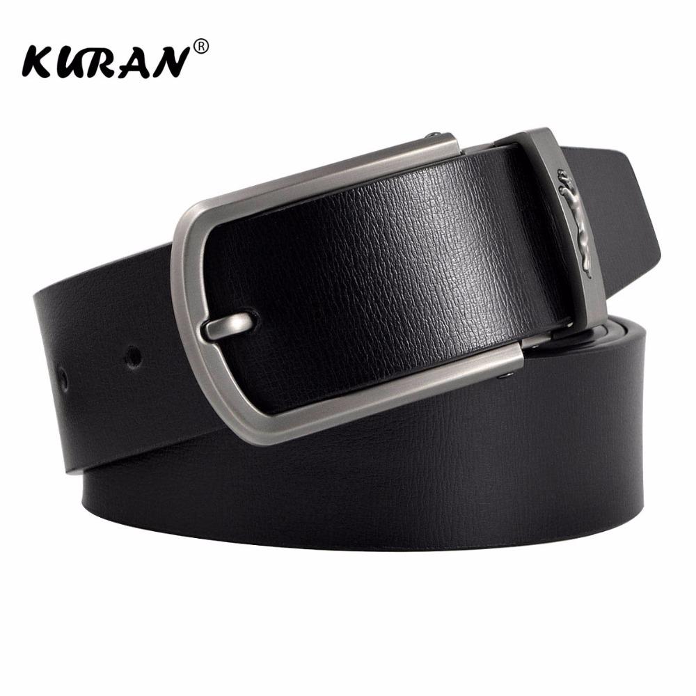 [해외]새로운 디자이너 벨트 남자 럭셔리 브랜드 가죽 벨트 핀 버클 블랙 비즈니스 바지 스트랩 Cinturones Hombre Cinto/New Designer Belts Men  Luxury Brand Leather Belt Pin Buckle Black Busine