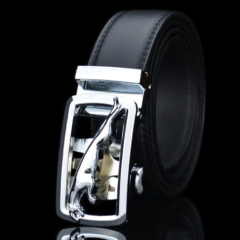 [해외]패션 맨 벨트 Cowskin 가죽 자동 버클 브랜드 남성 블랙 벨트 인기 단색 남자 럭셔리 벨트/Fashion Man Belts Cowskin Leather Automatic Buckle Brand Male Black Belts Popular Solid Colo