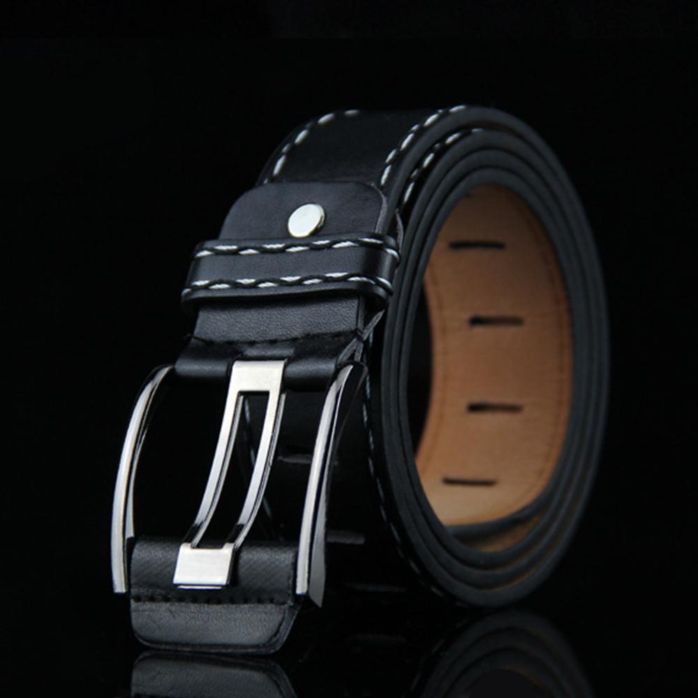 [해외]레트로 새로운 실제 와이드 핀 버클 허리띠 벨트 망 선물 아이디어 2018 무료 조정 청바지 브랜드 벨트 Erkek Kot Kemeri U103/Retro New Real Wide Pin Buckle Waistband Belt For Mens Gift Ideas