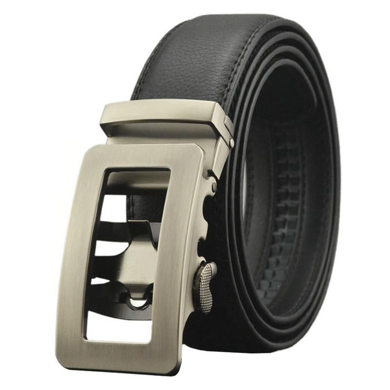 [해외]남성용  가죽 벨트 120 130 140 150cm 큰 스트랩 래칫 자동 버클 Cintos Luxury Ceinture Homme Jeans Belts/Genuine Leather Belts for Men 120 130 140 150cm Big Straps Ra