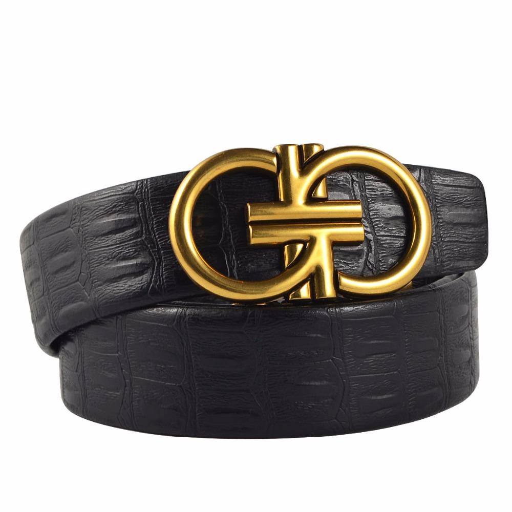 [해외]2018 새로운 스타일 인공 가죽 남자 벨트 빈티지 패션 오래 된 합금 버클 남자 & s 벨트 자동 버클 벨트 더블 G 여자/2018 New Style Artificial Leather Men Belt Vintage fashion old alloy buc
