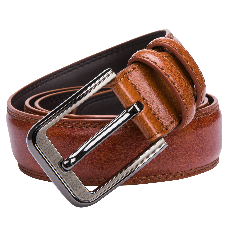 [해외]Dropship 브랜드  가죽 핀 버클 빈티지 캐주얼 남자 벨트 레드 브라운 Cowbody 청바지 벨트 스트랩 Cintos 130cm PZ-1007-F/Dropship Brand Genuine Leather Pin Buckle Vintage Casual Men