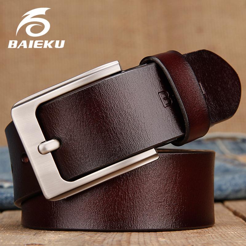 [해외]BAIEKU 남자 & S 벨트 남자 & s 청바지에 대 한 간단한 패션 레트로 핀 버클 남성 가죽 벨트 2018 long105-140cm/BAIEKU MEN&S BELT for Man&s jeans Simple retro pin buckle mal