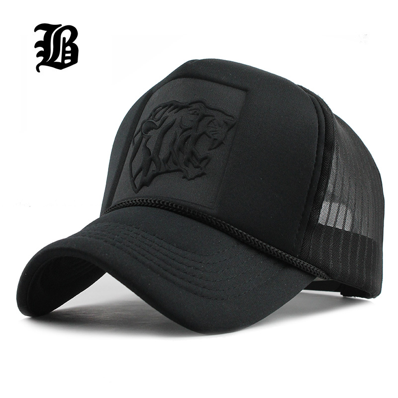 [해외][FLB] 2017 힙합 블랙 표범 인쇄 곡선 야구 모자 여름 메쉬 Snapback 여성용 남성용 캐스켓 트럭 캡/[FLB] 2017 Hip Hop Black leopard Print Curved Baseball Caps Summer Mesh Snapback H