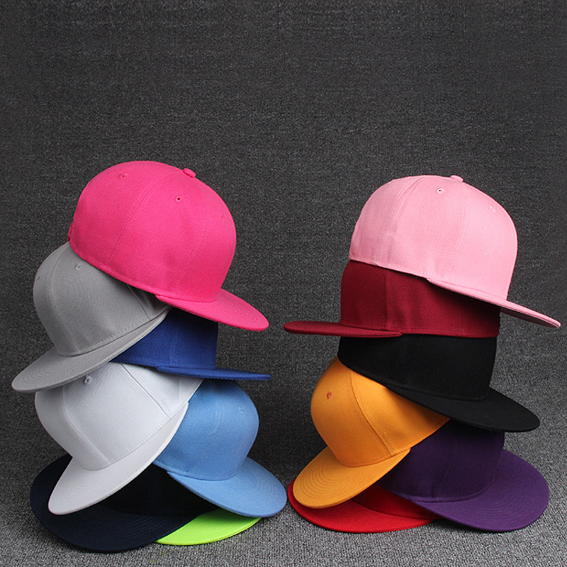 [해외]2017 브랜드 남성용 여성용 모자 솔리드 컬러 힙합 야구 모자 스냅 백 유니 여성 남성 캔디 색상 모자 12 색/2017 brand Men Women&s hats Solid Color Hip Hop Baseball Caps Snapback Hats UniYou