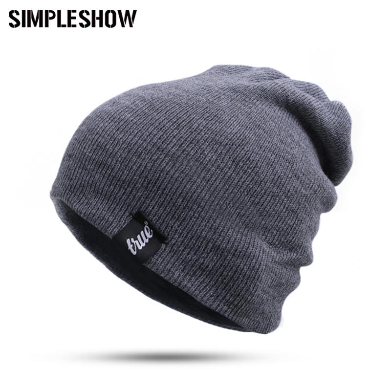 [해외]?새로운 로고와 트루 앤 브랜드 겨울 모자 여성 Skullies Beanies 여성 남성 패션 Warm Knit Ladies Beanies Hat 신축성 남녀 공용/ New Logo&TRUE& Brand Winter Hat Women Men Skullies Be