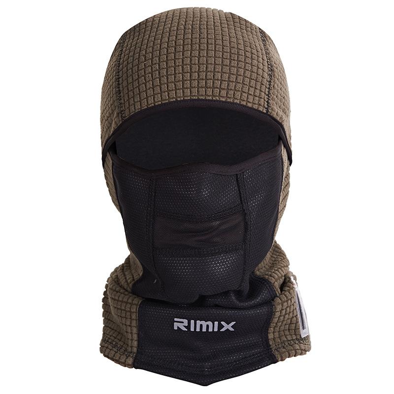 [해외]온도 표시 옥외 Windproof 겨울 온난 한 열 양털 가면 모자 자전거 타는 스키 통기성 Balaclava 두개골 얼굴 가면/Temperature Display Outdoor Windproof Winter Warm Thermal Fleece Mask Hat