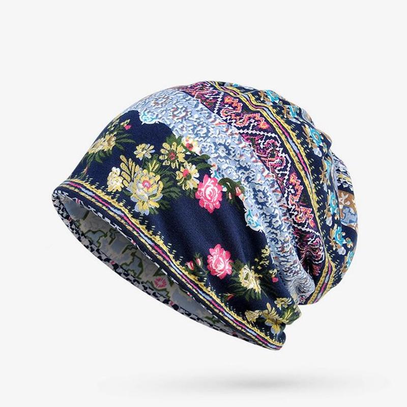 [해외]?모자 여성용 Beanies Ladies 씬 위장 플라워 힙합 Beanies Hat 스카프 마스크 Bonnet Female Male Autumn 2017 New/ Hats For Men Women Beanies Ladies Thin Camouflage Flowe