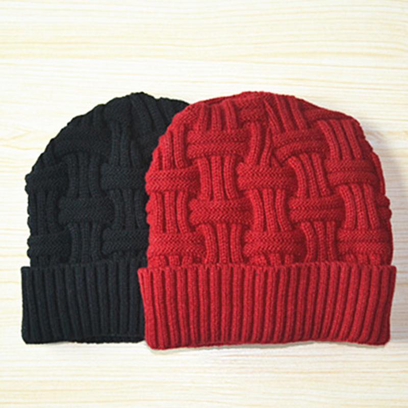 [해외]1pcs Beanies 여성용 겨울 모자 여성용 니트 소녀 모자 모자 여성용 모자 겨울 레이디 모자 브랜드 Beanie Skullies Beanies Hat/1pcs Beanies Women&s Winter Hats for Women Knitted Girls B