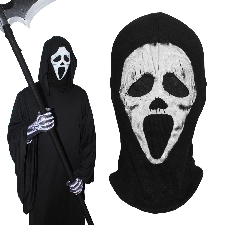 [해외]비명 전체 얼굴 마스크 죽음 냉혹 한 사신 유령 전술 밀리터리 육군 파티 할로윈 의상 코스프레 겨울 따뜻한 Balaclava/Scream Full Face Masks Death Grim Reaper Ghost Tactical Military Army Party
