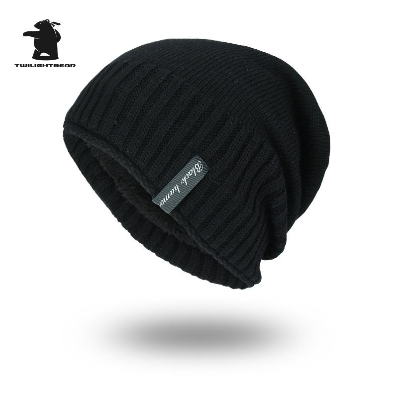[해외]새로운 남성 & 겨울 모자 패션 양 털 스키 Beanies 모자 따뜻한 니트 모자 모자 모자 남성 Gorros Invierno Cappelli AY6E54/New Men&s Winter Hat Fashion Fleece Skiing Beanies Caps