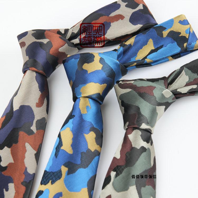 [해외]남성 패션 디자이너 자카드 밀리터리 위장 스키니 슬림 넥타이 좁은 카모 타이 극세사 방수 남성 타이를 들어 넥타이/Ties For Men Fashion Designer Jacquard Military Camouflage Skinny Slim Necktie Nar