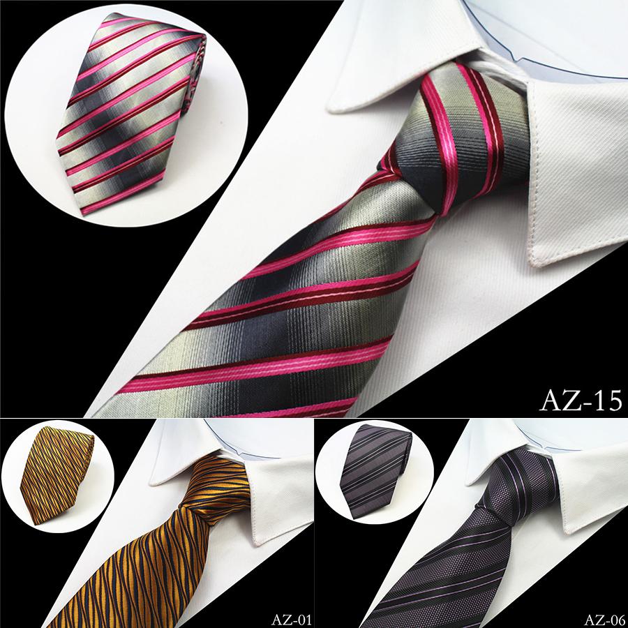 [해외]웨딩 파티 넥타이 공장의 경우 2016 새로운 디자인 100 % 실크 남성 넥타이 8cm 스트라이프 클래식 비즈니스 목에 넥타이 남성용 정장/2016 New Design 100% Silk Men Tie 8cm Striped Classic Business Neck