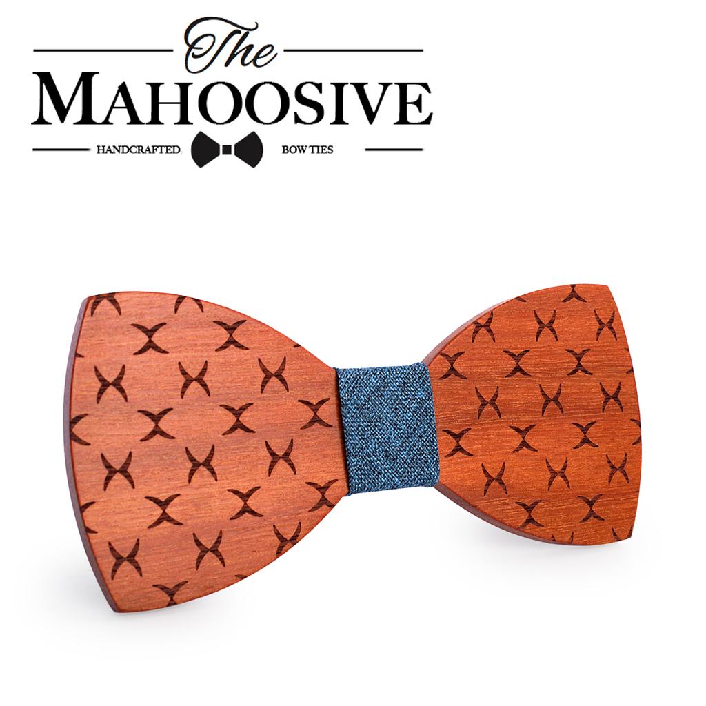 [해외]Mahoosive Bowties 신랑 일반 Mens 나무 Cravat 선물 남성용 Butterfly Gravata 남성 결혼 웨딩 보우 타이/Mahoosive Bowties Groom Normal Mens wood Cravat Gift For Men Butter