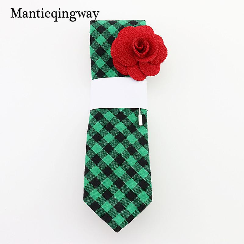 [해외]Mantieqingway 새로운 패션 넥타이 슬림 Gravatas 블랙 스키니 넥타이 코튼 넥타이 남자 웨딩 비즈니스 스트 라이프 & amp; 격자 무늬 보우 타이/Mantieqingway New Fashion Ties Slim Gravatas Black