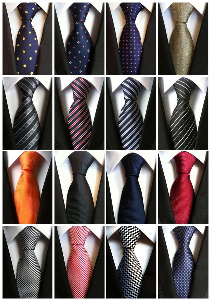 [해외]유행 패션 클래식 남성 & 스트 라이프 실크 넥타이 블랙 레드 화이트 오렌지 네이비 블루 퍼플 베이지 그린 옐로우 넥타이 & s LUC22 - 46/Fashionable Fashion Classic Men&s Stripe Silk Tie Black