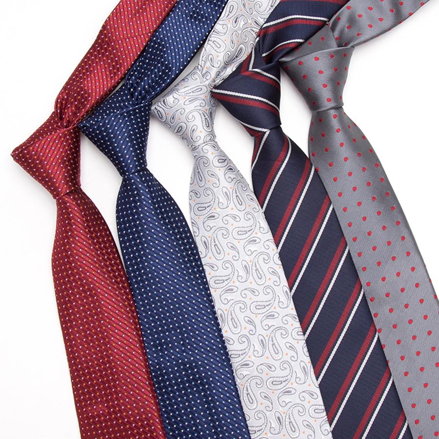 [해외]남성 넥타이 7cm 스키 니 넥타이 새로운 패션 도트 넥타이 Corbatas Gravata 자카드 슬림 넥타이 비즈니스 남자 & s 웨딩 드레스 넥타이/Men Tie 7cm skinny ties Mens New Fashion Dot Neckties Cor