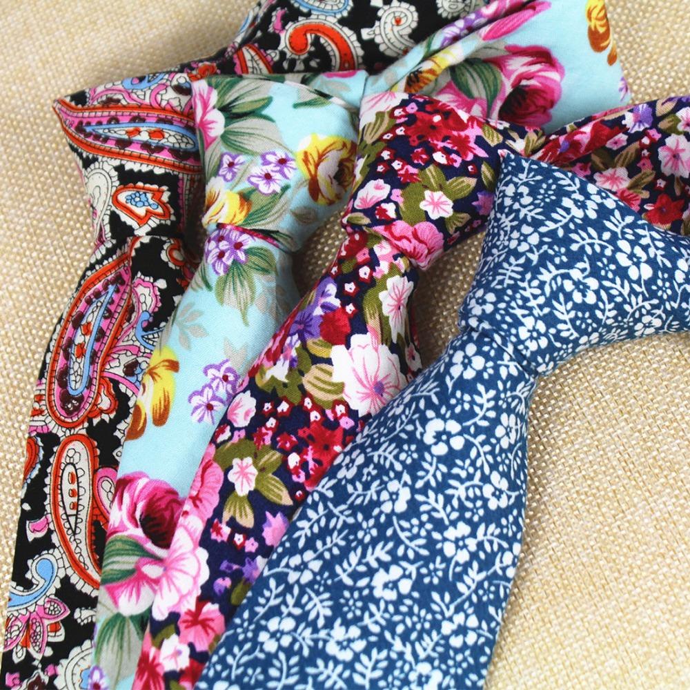 [해외]RBOCOTT 남성을새로운 디자인 8cm 코 튼 넥타이 페이 즐 리 넥타이 꽃 넥타이 망 클래식 넥타이 비즈니스 웨딩 파티 Neckwear/RBOCOTT New Design 8 cm Cotton Ties For Men Paisley Tie Floral Ties
