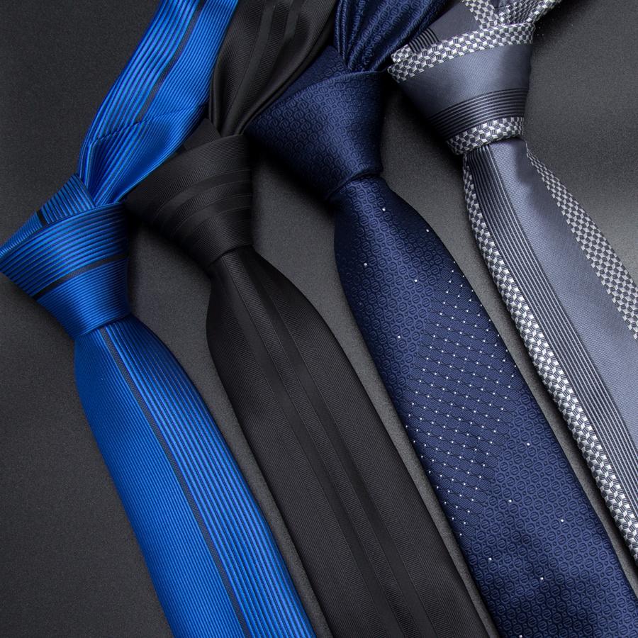 [해외]남성 넥타이 5cm 스키 넥타이 럭셔리 Mens Fashion Striped Neckties Corbatas Gravata Jacquard 비즈니스 남자 & s 웨딩 드레스 Slim Tie/Men Tie 5cm skinny ties luxury Mens
