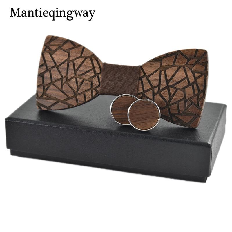 [해외]Mantieqingway 남성 정장 웨딩 파티에 대한 유행 나무 bowties 수제 나무 활 넥타이 비즈니스 넥 넥타이 나무 넥타이/Mantieqingway Trendy Wooden Bowties For Mens Suit Wedding Party Handmade
