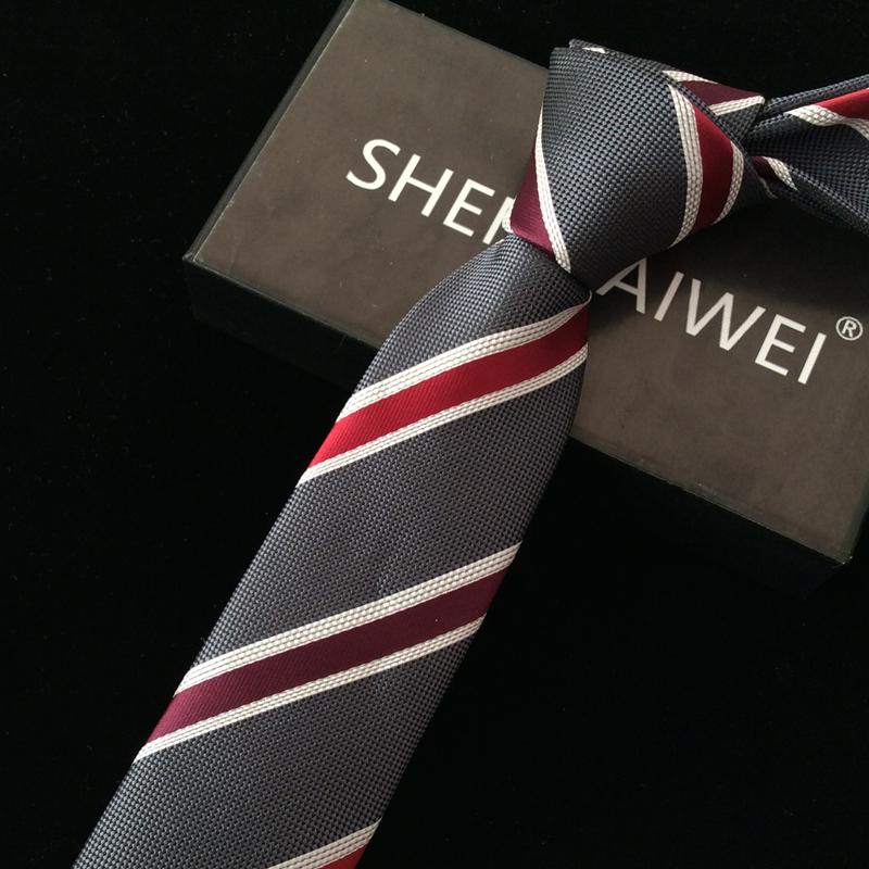 [해외]새로운 줄무늬 넥타이 남성용 줄무늬 6cm corbatas hombre 2,007 lote 넥타이에 대한 1200 핀 고품질의 새로운 결혼 선물 꽃 넥타이 gravata 슬림 넥타이/1200 pin high quality new wedding gifts flor