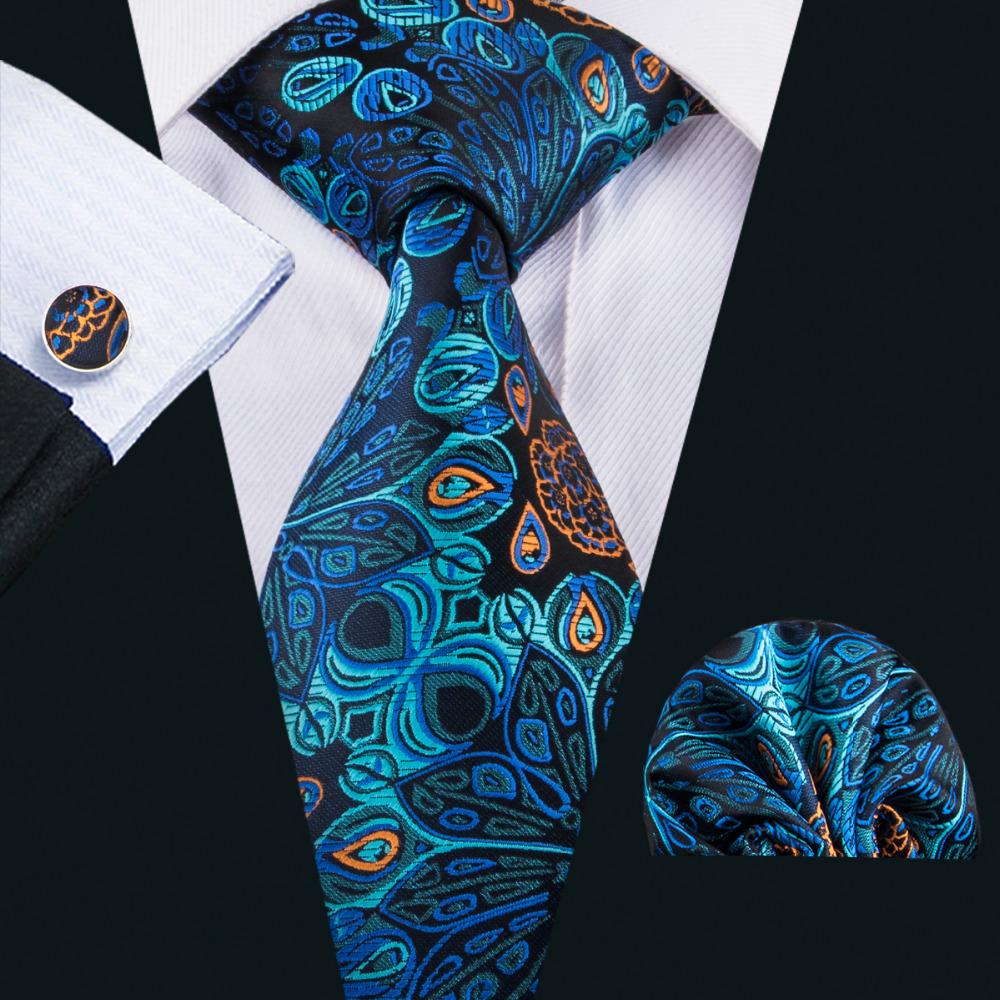 [해외]2017 Barry.Wang 새 남성 넥타이 실크 자 카드 짠 Gravata 넥타이 행 커 커 커 스는 비즈니스 웨딩 파티 FA-1593에 대 한 설정/2017 Barry.Wang New Men`s Tie Silk Jacquard Woven Gravata Nec