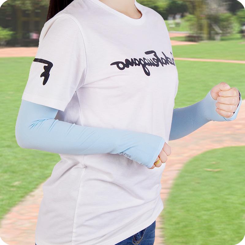 [해외]아이스 슬리브 여름 새 uv 팔을 실행 fingerlessoutdoor 활동 슬리브 커프 러닝 야외 팔목/Ice arm sleeves Summer running the new uv arm set fingerlessoutdoor activities sleeve c