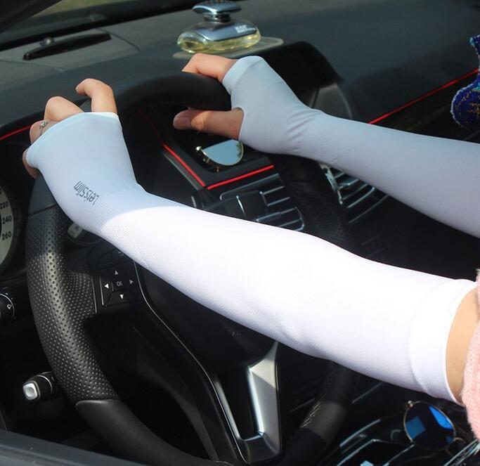 [해외]여름 손가락없는 장갑 슬립 슬립 팔 슬리브 Unitwo piece/Summer fingerless gloves Slip on sleeves Sleeves for arms Unitwo piece