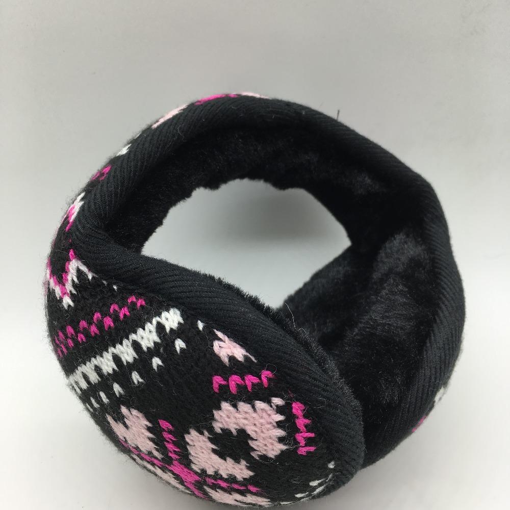 [해외]추운 겨울 뜨개질 자카드 방한용 귀 가리개 유행 남성과 여성 일반 접이식 방한용 귀고리/Warm the cold winter knitting jacquard earmuffs fashionable men and women general folding earmuff