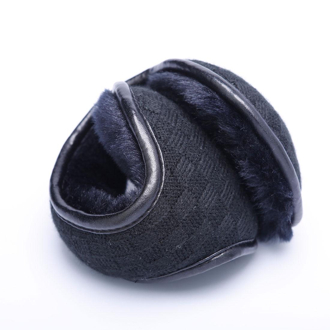 [해외]남자에 대 한 편안한 겨울 니트 귀고리 여자 접이식 귀 따뜻하게 귀 가방 가변 따뜻한 인형 귀고리 Earflap 다시 착용/Comfortable Winter Knitted Earmuffs For Men Women Foldable Ear Warmers Ear Ba