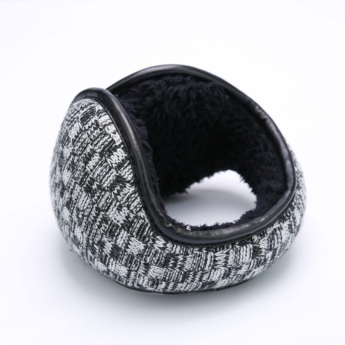 [해외]남자를Hot 겨울 니트 귀고리 여자 접이식 귀 따뜻하게 귀 가방 가변 따뜻한 인형 귀고리 Earflap 다시 착용/Hot Winter Knitted Earmuffs For Men Women Foldable Ear Warmers Ear Bag Adjustable