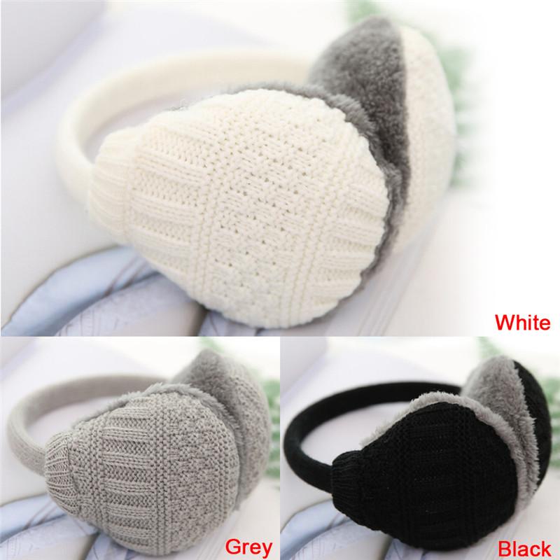 [해외]새로운 스타일 겨울 귀마개 여성 따뜻한 UniEar Muffs 겨울 귀 커버 니트 봉제 겨울 귀 따뜻하게/New Style Winter Earmuffs Women Warm UniEar Muffs Winter Ear Cover Knitted Plush Winter