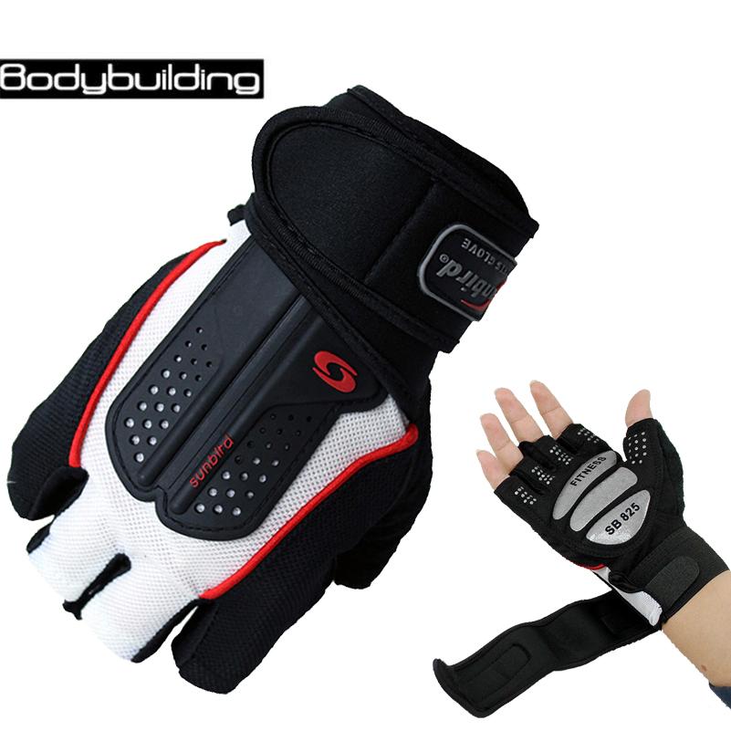 [해외]강력한 체육관 피트니스 장갑 학계 전원 훈련 무게 아령 스포츠 크로스 핏 바벨 손가락없이 절반 손가락 장갑을 리프팅/Strong Gym Fitness Gloves Academia Power Training Weight Lifting Dumbbell Sports