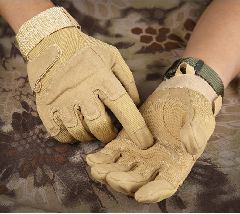 [해외]육군 전투 훈련 전술 장갑 남성 밀리터리 경찰 군인 페인트 야외 장갑 전체 손가락 스포츠 사냥 자전거 장갑/Army Combat Training Tactical Gloves Men Military Police Soldier Paintball Outdoor Glo