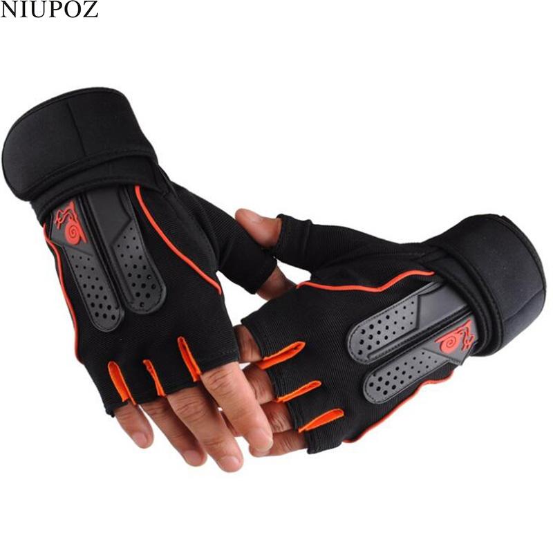 [해외]여자 / 남자 강한 휘트니스 체육관 글러브 힘 무게 리프팅 덤벨 크로스 피트 바벨 핑거리스 훈련 하프 핑거 글러브 S35/Women/Men Strong Fitness Gym Gloves Power Weight Lifting Dumbbell Crossfit Bar