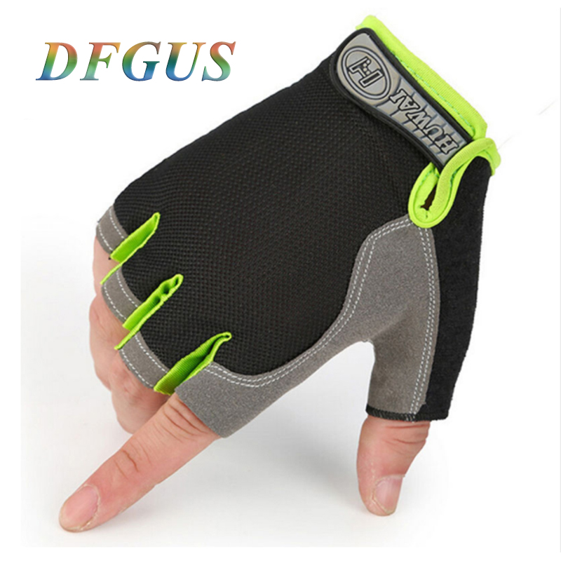 [해외]체육관 장갑 남성 여성 휘트니스 등산 자전거 Ridding 장갑 반 손가락 남성 안티 슬립 통풍 핑거리스 체육관 장갑/Gym Gloves Men Women Fitness Climbing Bicycle Ridding Mittens Half Finger Male A