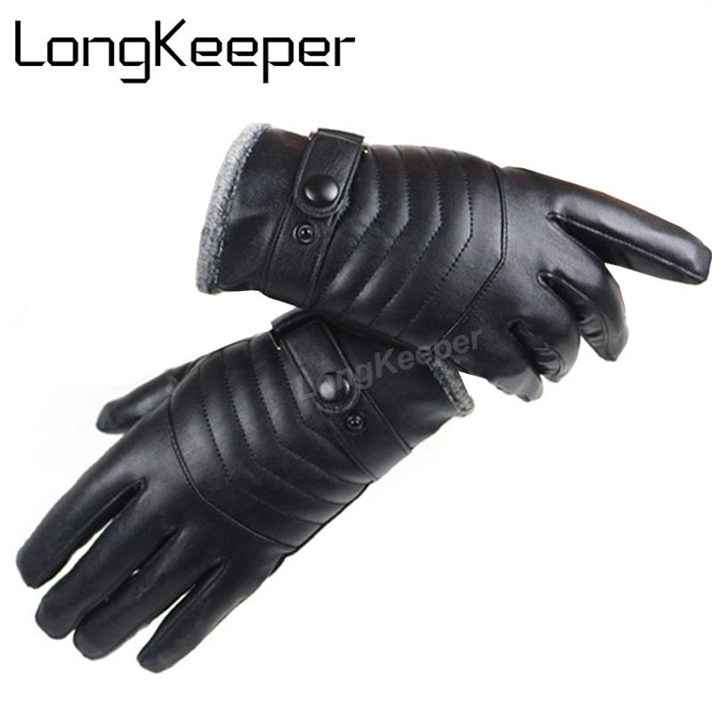[해외]남자를Longkeeper 남자 양피 장갑 남자를진짜 가죽 장갑 겨울 옥외 온난 한 모피 두꺼운 열 구동 G287/LongKeeper  Men Sheepskin Gloves Genuine Leather Glove For Men Winter Outdoor Warm