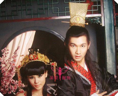 [해외]남성 코스프레 의상 머리 장식품 hanfu cos 머리 왕관 남성 의상 크라운 뚜껑/Male cosplay costume hair accessory hanfu cos hair crown male costume crownpiece cap