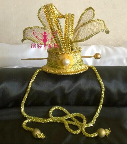 [해외]원래 빈티지  황제 또는 프린스 머리 코로 넷 헤어 액세서리 헤어 액세서리/Original Vintage Chinese Emperor or Prince Hair Coronet Hair Piece Hair Accessory
