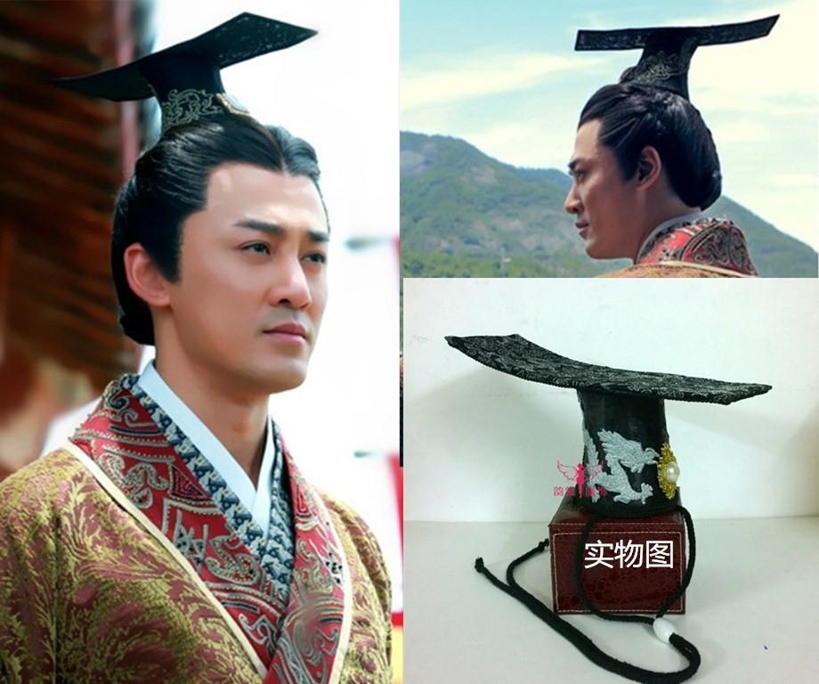 [해외] 한 왕조 황후 머리카락 티아라 TV 놀이 Great Han Empress - Liu Bang 남성 모자/Chinese Han Dynasty Empress Hair Tiara TV Play Great Han Empress - Liu Bang Male Hat